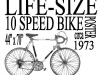 kachadourian_gary_lifesizeposterof10speedbike